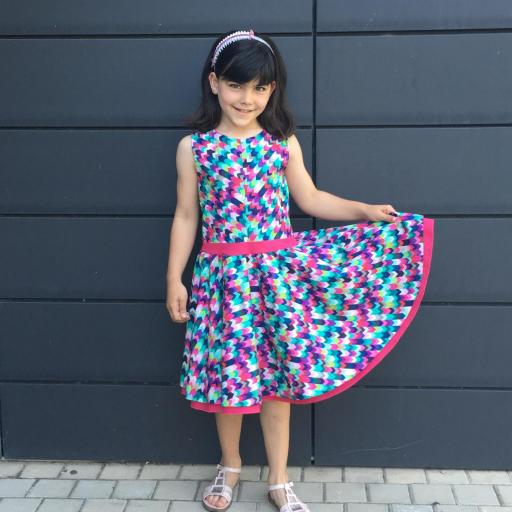 Vestido niña mod. Rachel [0]