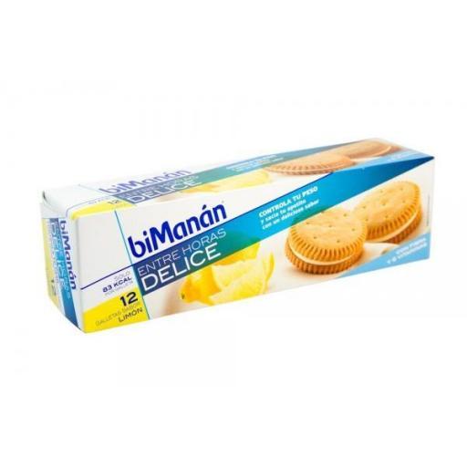 Bimanan Galletas Limón 12 unidades
