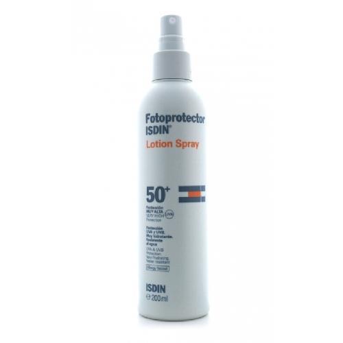 Isdin Loción Spray Solar Transparente SPF 50 - 200 mL