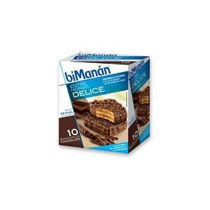 Bimanan Bombones Crujientes de Chocolate 10 unidades