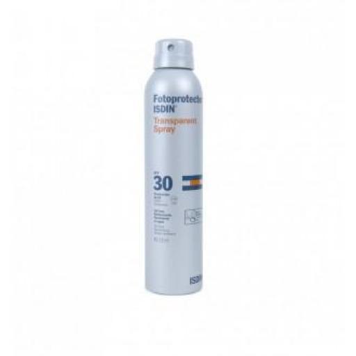 Isdin Spray Solar Transparente SPF 30 - 200 mL