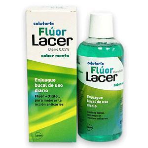 Lacer Flúor Colutorio menta 500 mL