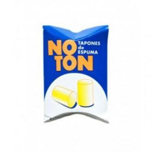 Noton Tapones Espuma 2 unidades