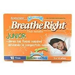 Breathe Right Junior 10 tiras