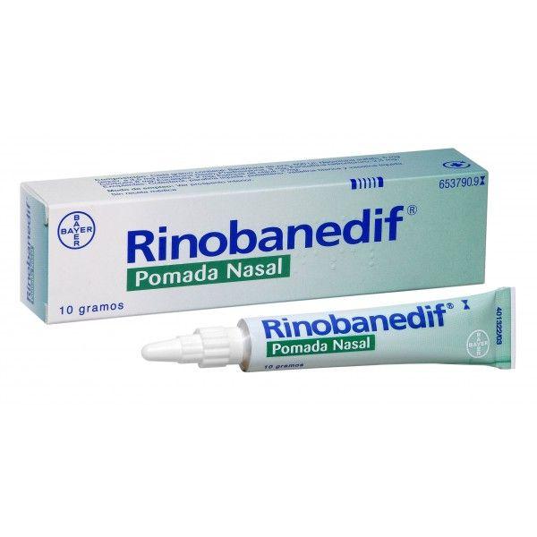 RINOBADENIF POMADA NASAL 10 G