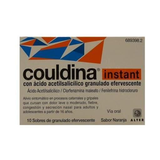 COULDINA INSTANT 10 SOBRES EFERVESCENTES [0]