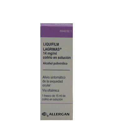 LIQUIFILM LAGRIMAS 14 MG/ML COLIRIO SOLUCION 15 ML