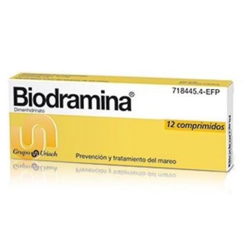 BIODRAMINA 50 MG 12 COMPRIMIDOS [0]