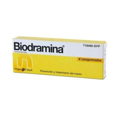 BIODRAMINA 50 MG 4 COMPRIMIDOS [0]