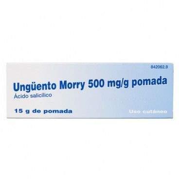 UNGUENTO MORRY 500 MG/G POMADA 15 G [0]