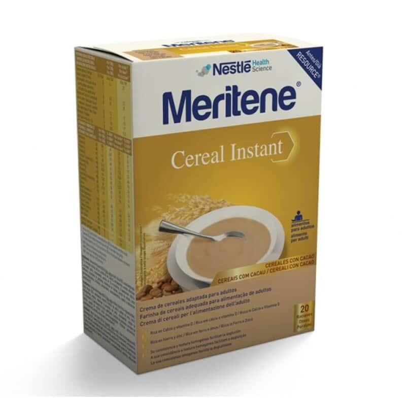 Meritene Cereal Instant Cereales con Cacao 600gr