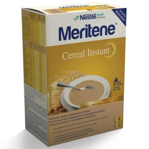 Meritene Cereal Instant Cereales con Cacao 600gr