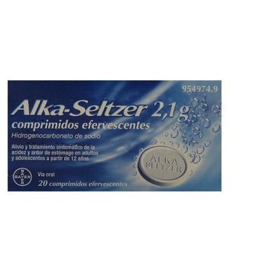 ALKA-SELTZER 2,1 GRAMOS 20 COMPRIMIDOS