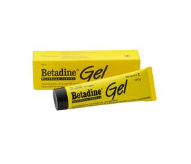 BETADINE 100 MG/G GEL TOPICO 100 G