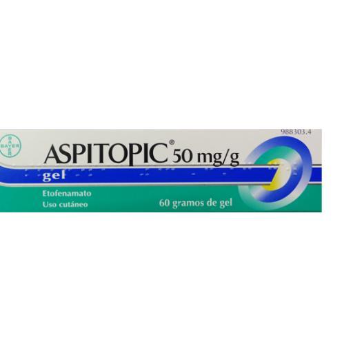 ASPITOPIC 50MG/G GELTOPICO 60 G