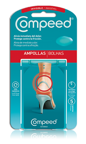 Compeed Ampollas Invisibles 5 apósitos