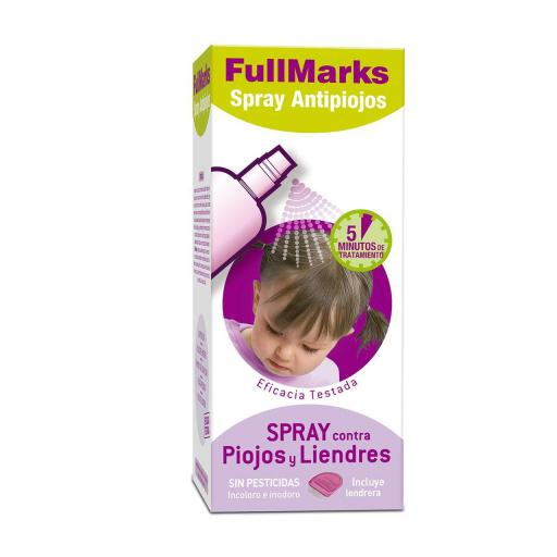 Full Marks Spray Antipiojos