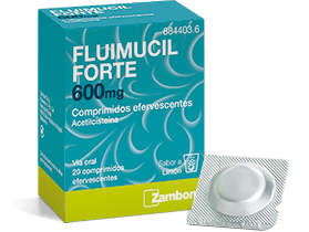 FLUIMUCIL FORTE 600 MG 20 COMPRIMIDOS EFERVESCENTES [0]