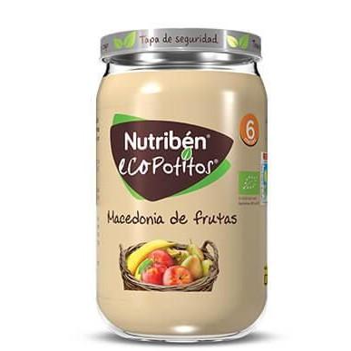Ecopotito Nutribén Macedonia de Frutas 235gr