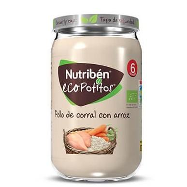 Ecopotito Nutribén Pollo de Corral con Arroz 235gr