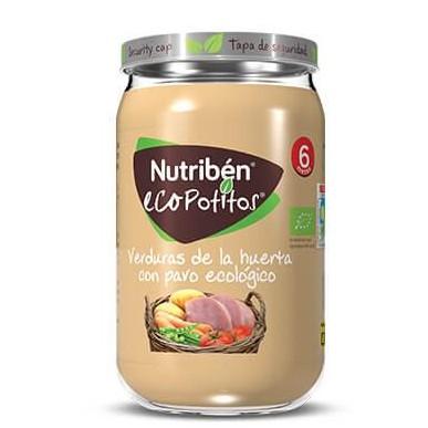 Ecopotito Nutribén Verduras de la Huerta con Pavo ecológico 235gr [0]