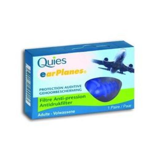 Quies Protección Auditiva Especial Para Avión Talla Adulto [0]