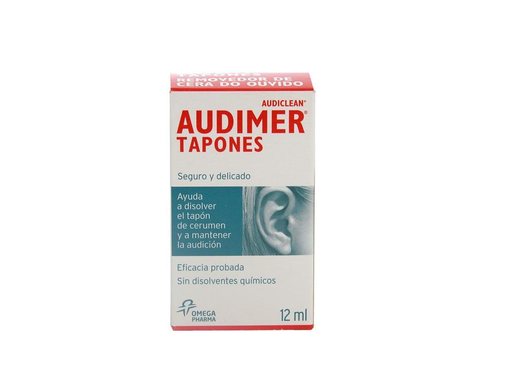 Audimer Tapones Solución de Limpieza de Oído 12 mL