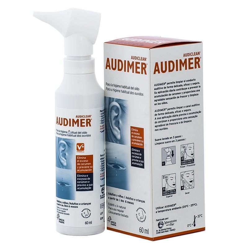 Audimer Suero Marino Isotónico Spray 60 mL