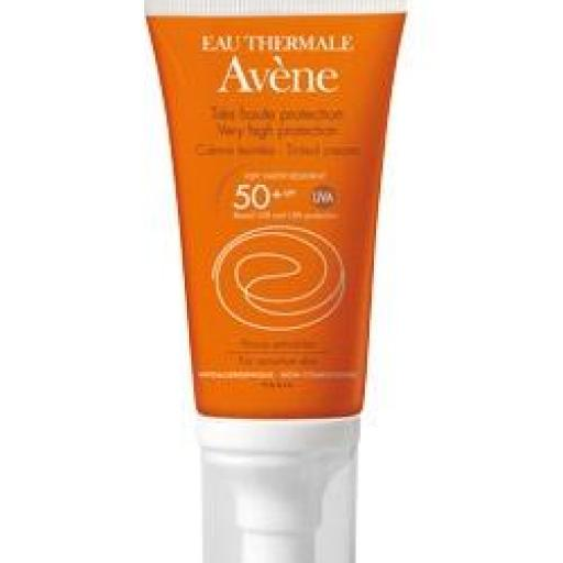 Avene crema 50 SPF con color 50 ML