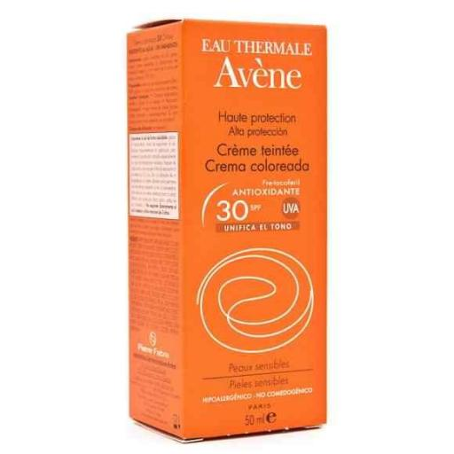 Avene crema 30 SPF con color 50 ML