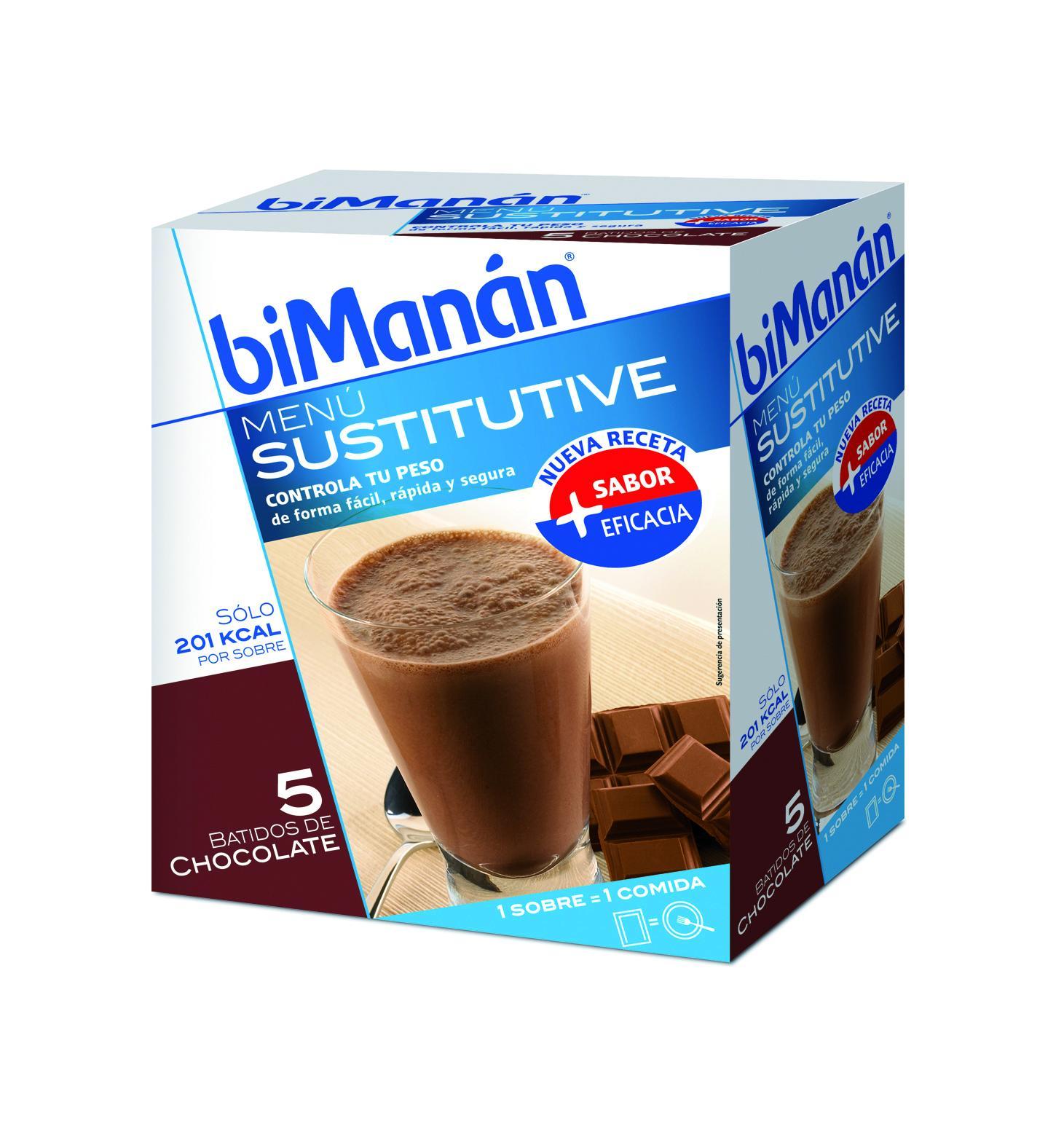 Bimanan Batido de chocolate 5 sobres