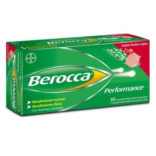 Berocca® Performance 30 comprimidos efervescentes sabor frutos rojos