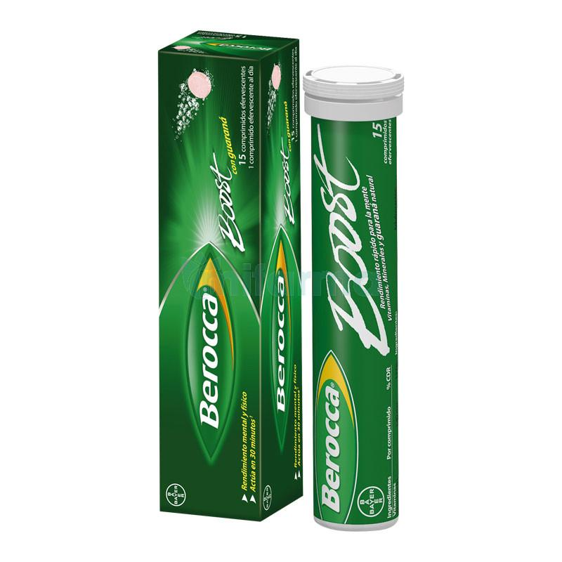 Berocca® Boost 15 comprimidos efervescentes