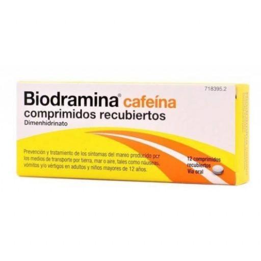 BIODRAMINA CAFEINA 12 COMPRIMIDOS [0]