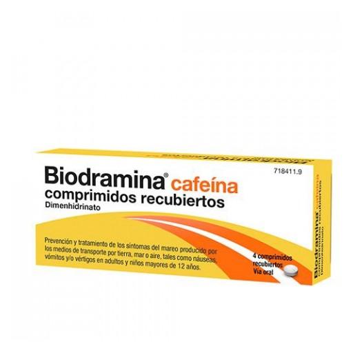 BIODRAMINA CAFEINA 4 COMPRIMIDOS [0]