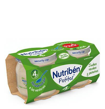 Potito Nutribén Introducción a las Judías Verdes y Patatas (Bipack)