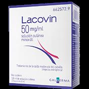 Lacovin 50mg/ml solución cutánea 2 x 60ml
