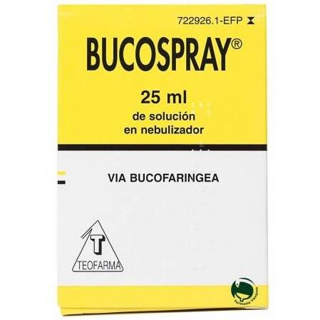 BUCOSPRAY AEROSOL TOPICO 25 ML