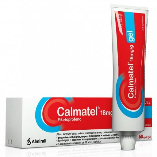 CALMATEL 18MG/G GEL 60 G