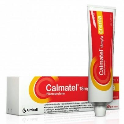 CALMATEL 18MG/G CREMA 60 G