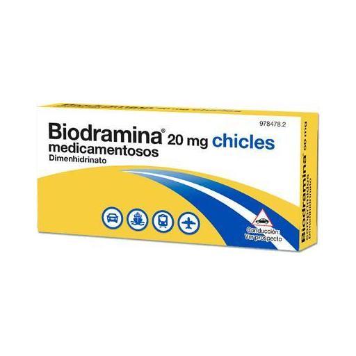 BIODRAMINA 20 MG 12 CHICLES [0]