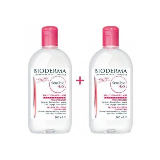 Bioderma Sensibio H2O Agua Micelar  500 ml + 500 ml DUPLO