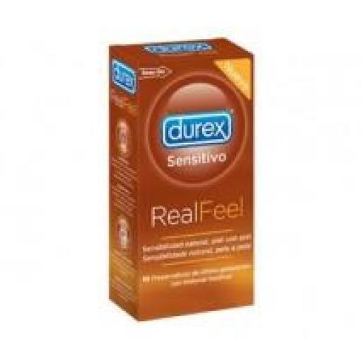 Preservativo Durex Real Feel 12 unidades