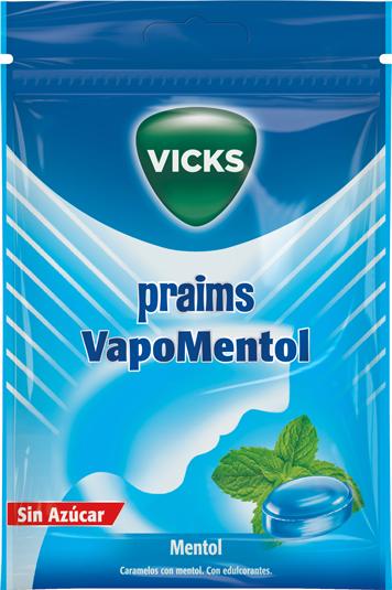 VICKS PRAIMS VAPOMENTOL 72GR