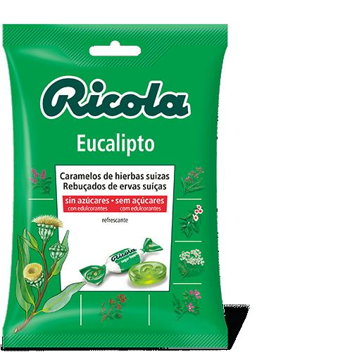 Ricola caramelos Eucalipto 70gr
