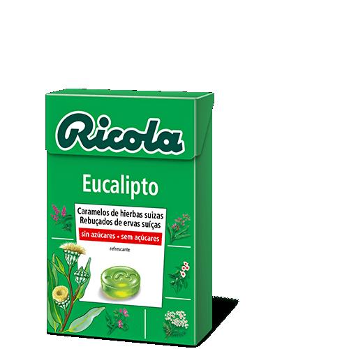 Ricola caramelos Eucalipto 50gr
