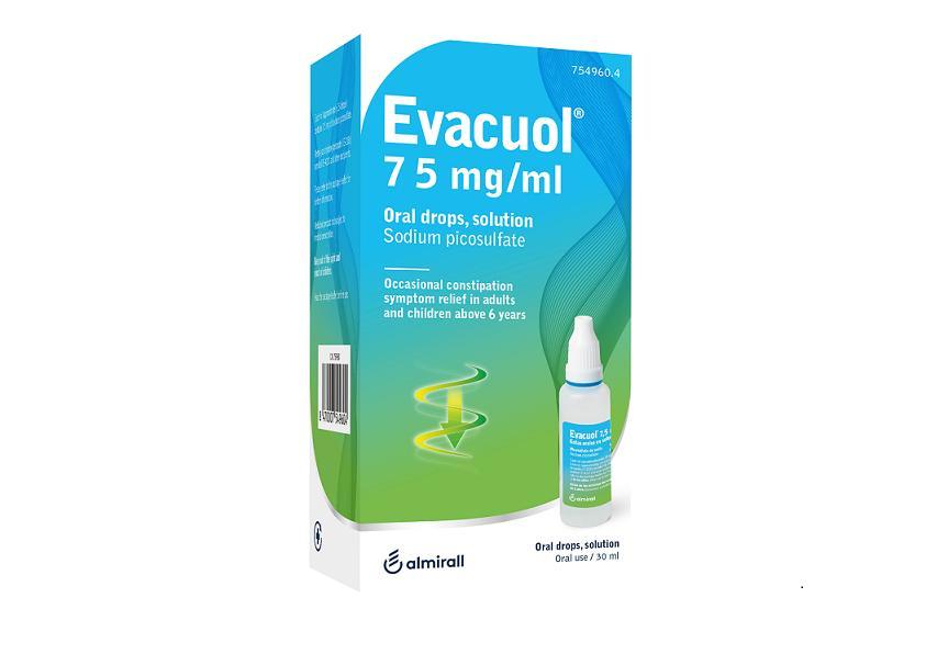 EVACUOL 7,5 MG/ML GOTAS ORALES SOLUCION 30 ML