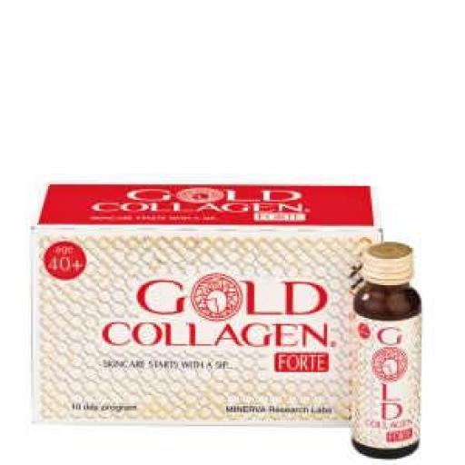Minerva Forte Gold Collagen (Pack de 10 botellas 50 mL)