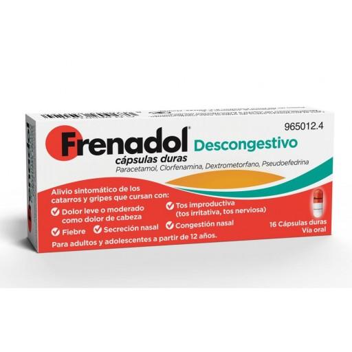 FRENADOL DESCONGESTIVO 16 CAPSULAS [0]