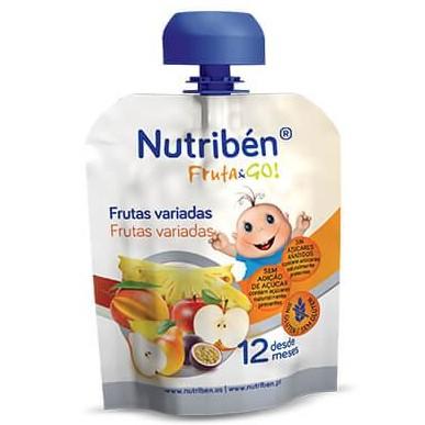 Fruta & GO! Nutribén Frutas variadas 90gr